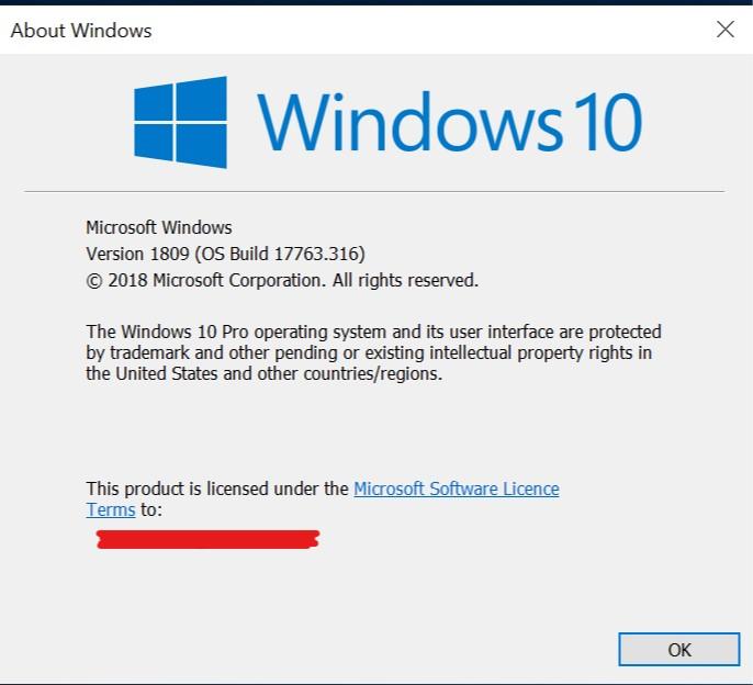 Current Status of Windows 10 October 2018 Update version 1809-winver.jpg