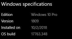 Cumulative Update KB4482887 Windows 10 v1809 Build 17763.348 - March 1-348.jpg