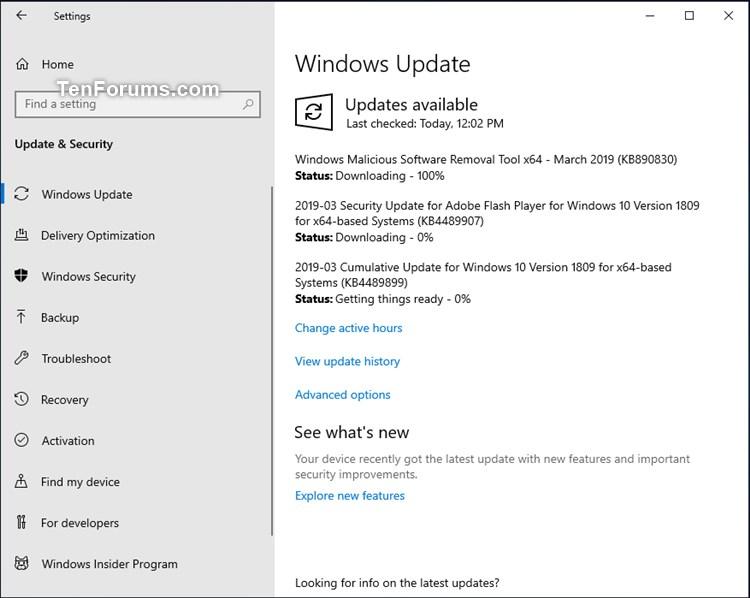 Cumulative Update KB4489899 Windows 10 v1809 Build 17763.379 - Mar. 12-kb4489899.jpg