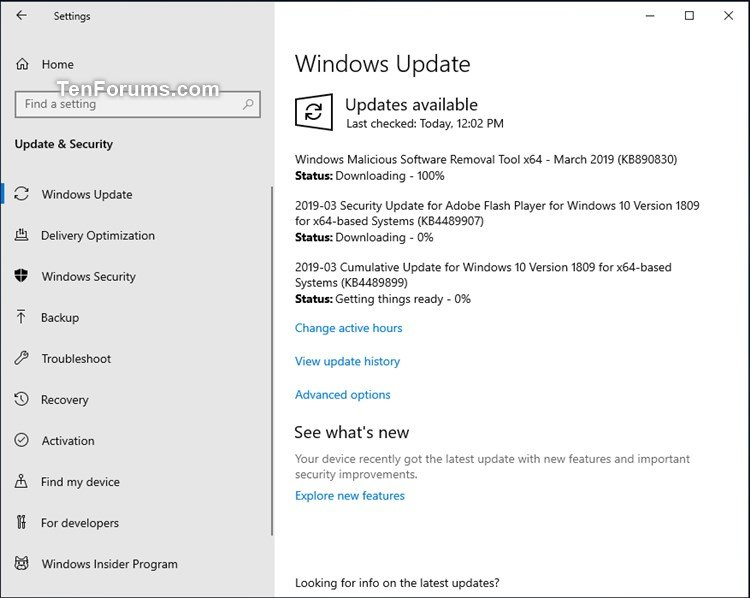 Cumulative Update KB4489899 Windows 10 v1809 Build 17763.379 - Mar. 12-kb4489899.jpg
