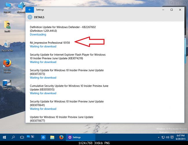 Download Windows 10 Pro Insider Preview Build 10158 En Us – Fondos