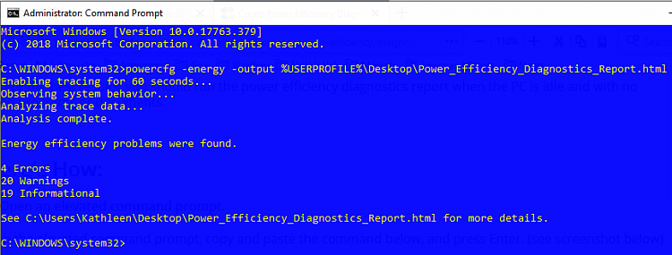 Current Status of Windows 10 October 2018 Update version 1809-win-10-ff-powercfg-energy-report.png