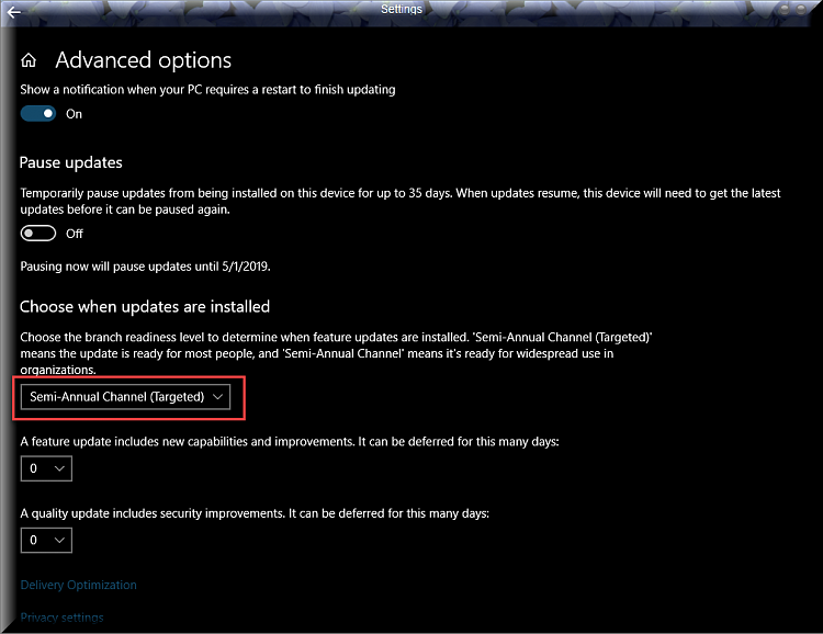 Click image for larger version.  Name:Advanced options for Windows Update.png Views:2 Size:88.3 KB ID:229759