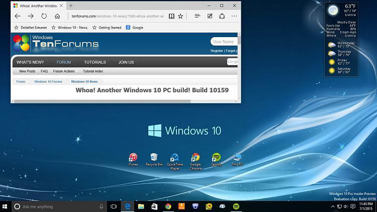 Whoa! Another Windows 10 PC build! Build 10159
