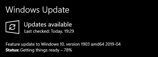 Windows 10 May 2019 Update released to Release Preview ring-1903update.png