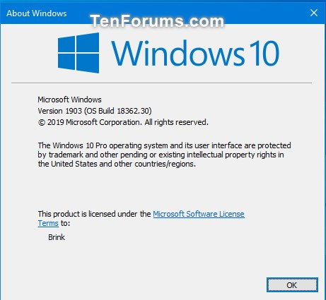 Windows 10 May 2019 Update released to Release Preview ring-18362.30.jpg