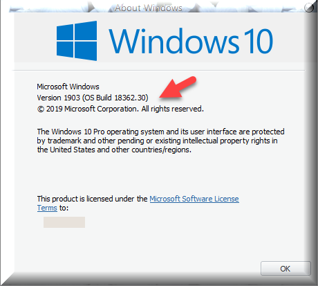 Click image for larger version.  Name:Insider Build 18362.30.png Views:127 Size:31.3 KB ID:230063