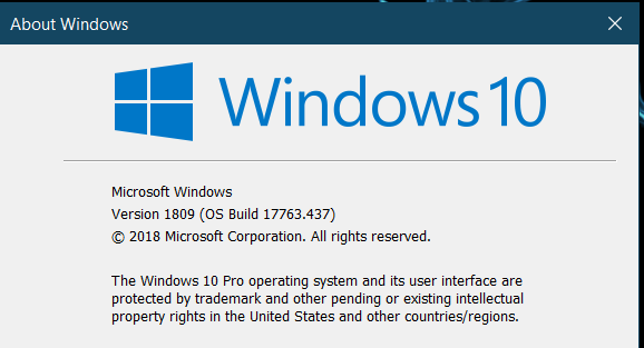 Cumulative Update KB4493509 Windows 10 v1809 Build 17763.437 - April 9-image.png