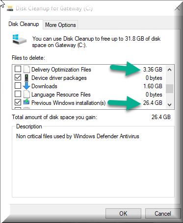Click image for larger version.  Name:Disk Cleanup after Build 18875.1000.png Views:126 Size:26.5 KB ID:230619