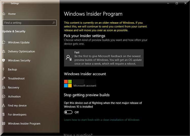 New Windows 10 Insider Preview Fast+Skip Build 18875 (20H1) - April 10-insider-program-new-message.png