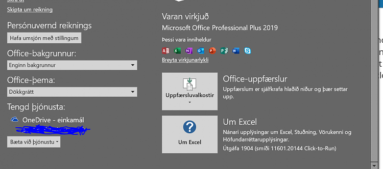 Office 365 Monthly Channel v1904 build 11601.20144 - April 29-o2019.png