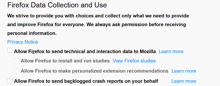 Your Firefox extensions are all disabled? That's a bug