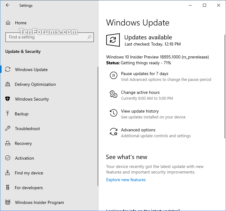 New Windows 10 Insider Preview Fast+Skip Build 18895 (20H1) - May 10-18895.png