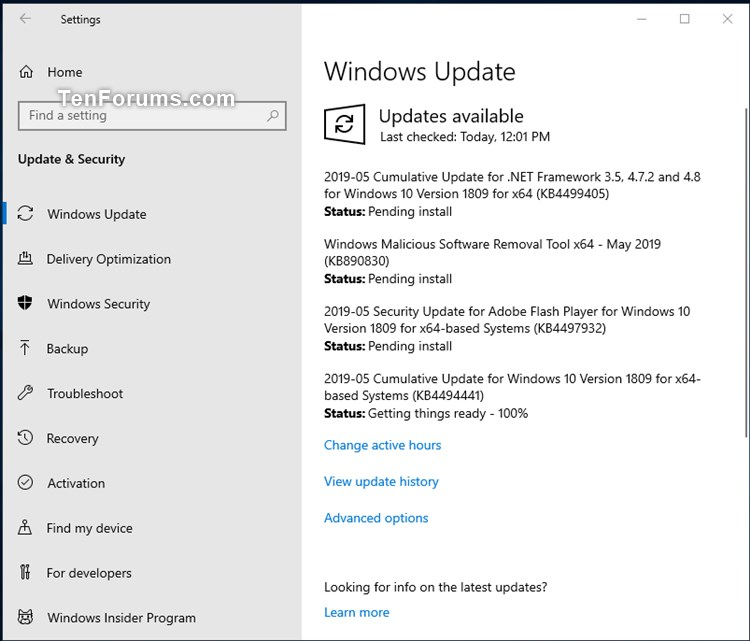 KB4497932 Security Update for Adobe Flash Player to Windows 10 May 14-kb449441.jpg