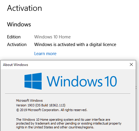 What is new for Windows 10 May 2019 Update version 1903-1903-activation.png