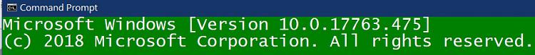 Click image for larger version.  Name:Windows 10 1809 Version Discrepancy (CLI report).jpg Views:1 Size:62.1 KB ID:234060