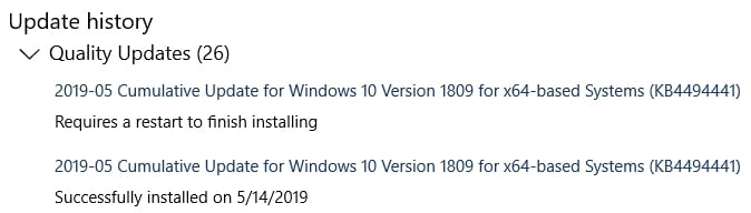 Click image for larger version.  Name:Windows 10 1809 Version Discrepancy (WU do-over).jpg Views:94 Size:54.7 KB ID:234061
