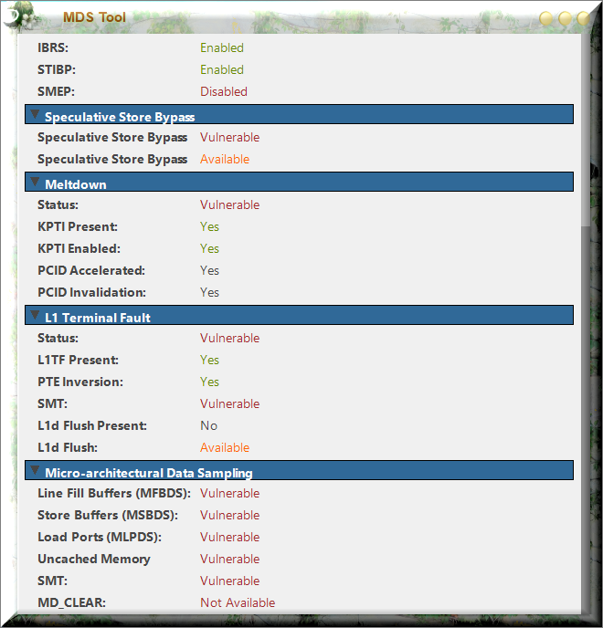Click image for larger version.  Name:MDS-Tool Results.png Views:68 Size:114.7 KB ID:234078