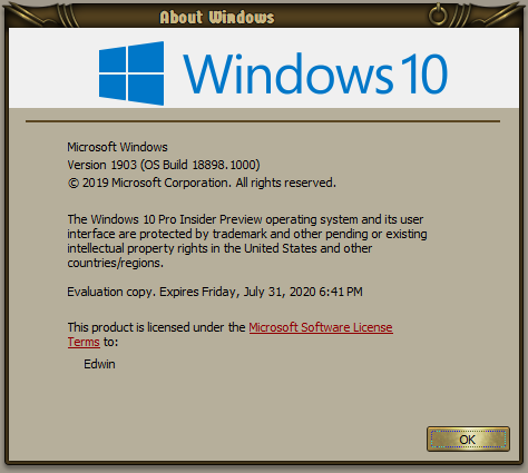 New Windows 10 Insider Preview Fast+Skip Build 18898 (20H1) - May 15-000918.png