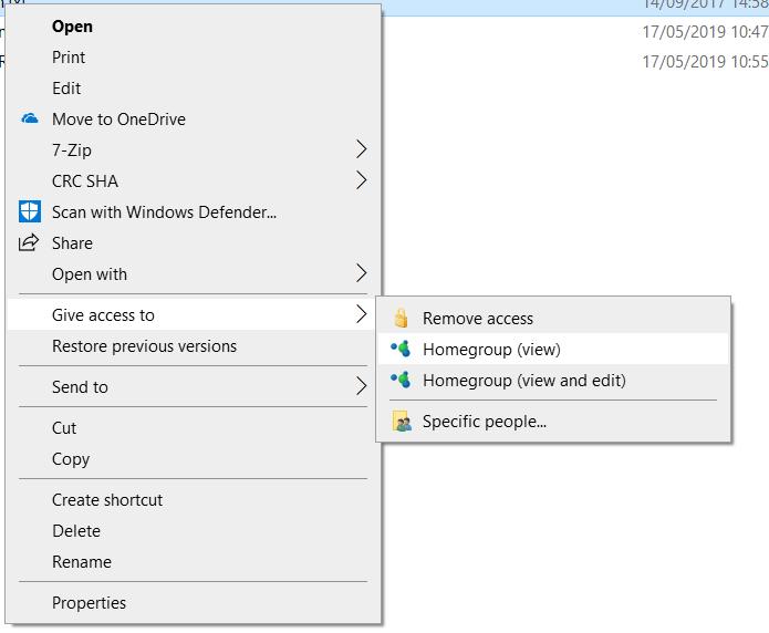 Windows 1903 Update