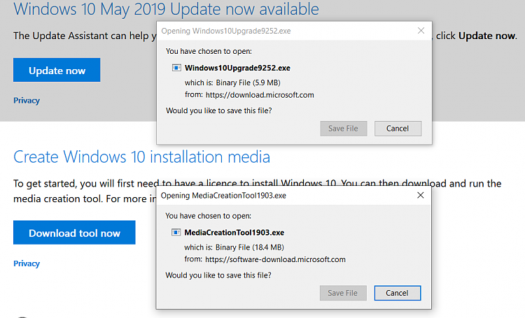Known and Resolved issues for Windows 10 May 2019 Update version