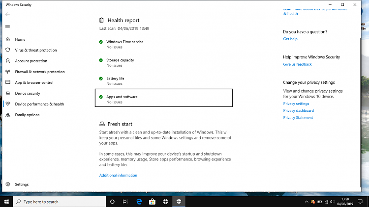 Known and Resolved issues for Windows 10 May 2019 Update