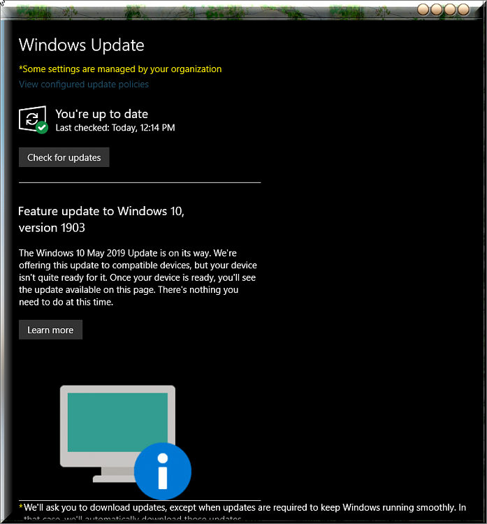 Microsoft auto-updating Windows 10 version 1803 and earlier to 1903-notice-window-update-1903.png