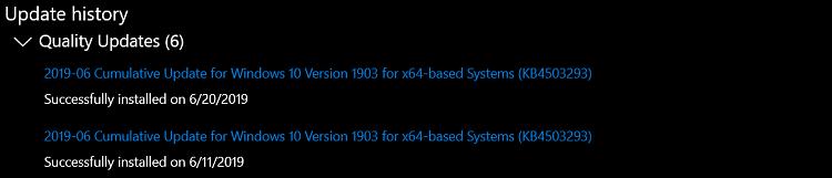 Cumulative Update KB4503293 Windows 10 v1903 build 18362.175 - June 11-image.png