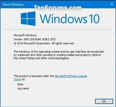 Cumulative Update KB4501375 Windows 10 v1903 build 18362.207 - June 24-18362.207.jpg