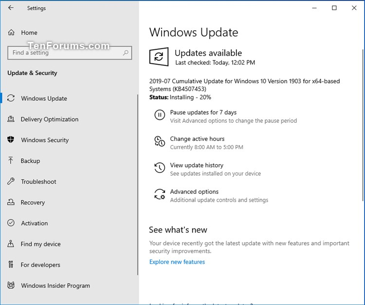 Cumulative Update KB4507453 Windows 10 v1903 build 18362.239 - July 9-kb4507453.jpg