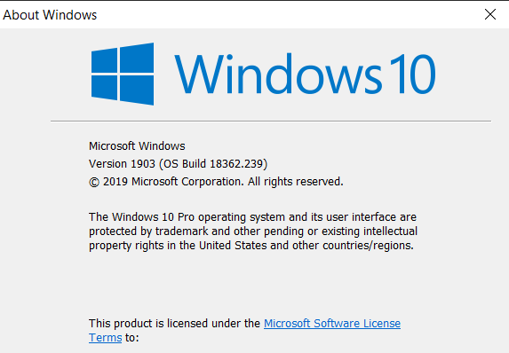 Cumulative Update KB4507453 Windows 10 v1903 build 18362.239 - July 9-image.png