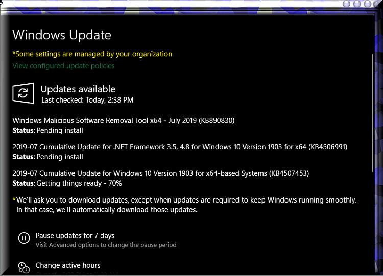 Cumulative Update KB4507453 Windows 10 v1903 build 18362.239 - July 9-kb4507453-installing.png