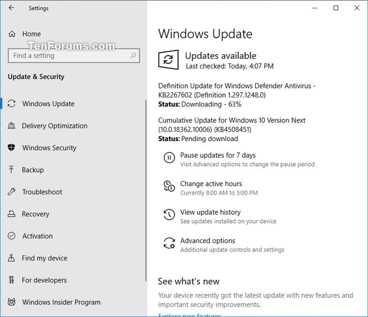 New Windows 10 Insider Preview Slow Build 18362.10006 (19H2) - July 17-kb4508451_18362.10006.jpg