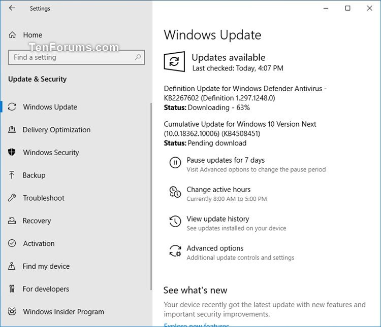 New Windows 10 Insider Preview Slow Build 18362.10006 (19H2) - July 17-kb4508451_18362.10006.jpg