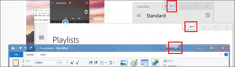 Windows 10 Calculator app gets always on top and compact