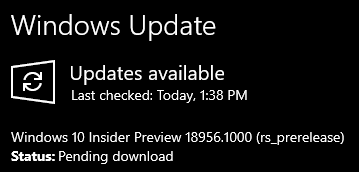 New Windows 10 Insider Preview Fast+Skip Build 18956 (20H1) - August 7-001590.png