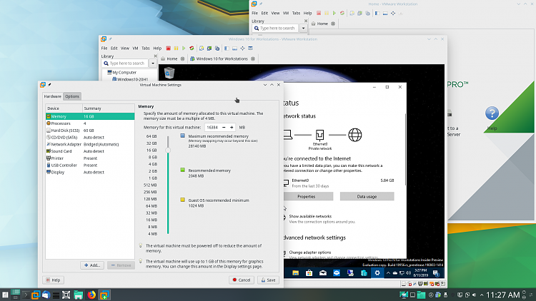 New Windows 10 Insider Preview Fast+Skip Build 18956 (20H1) - August 7-screenprint-vmware.png