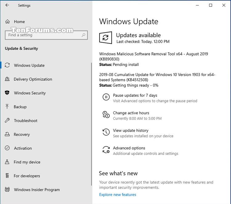 Cumulative Update KB4512508 Windows 10 v1903 build 18362.295 - Aug. 13-kb4512508.jpg