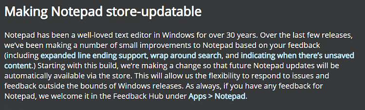 New Windows 10 Insider Preview Fast+Skip Build 18963 (20H1) - Aug. 16-notepad.png