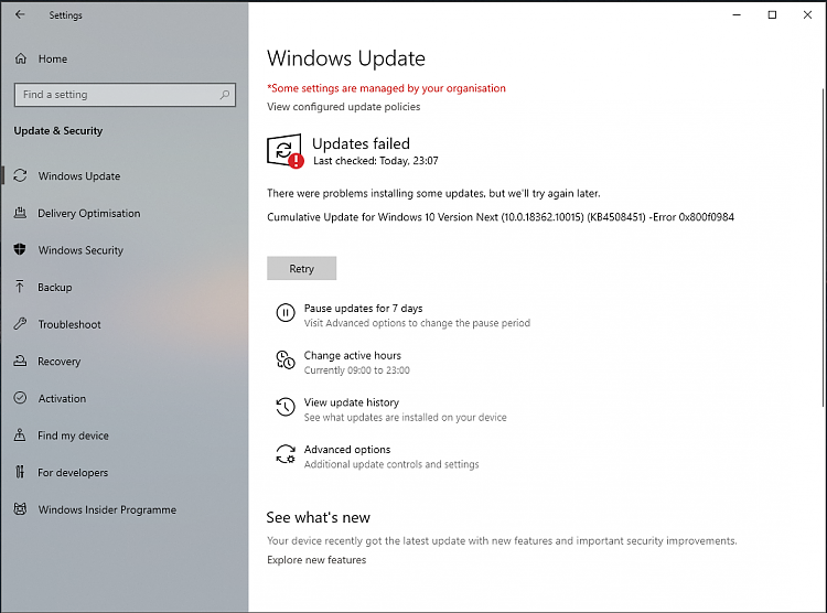 Windows 10 Insider Preview Slow Build 18362.10014 & 18362.10015 (19H2)-failure.png