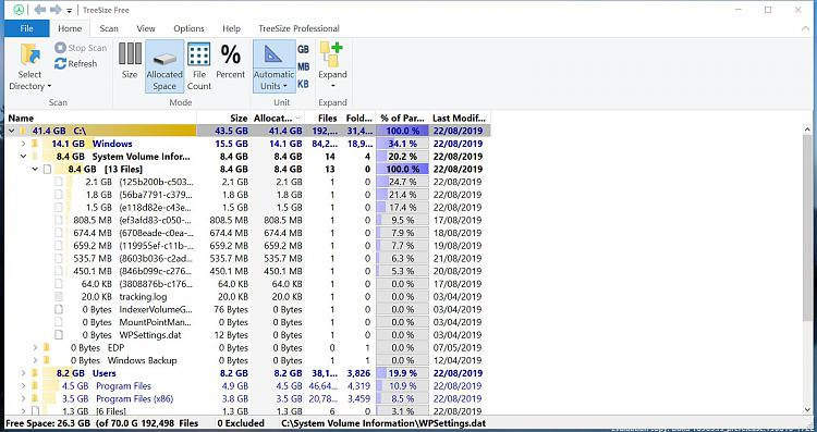 Click image for larger version.  Name:Treesize Build 18965.jpg Views:1 Size:300.3 KB ID:244070