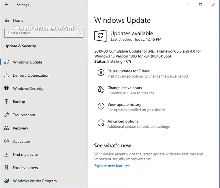 Cumulative Update KB4511555 .NET Framework 3.5, 4.8 Windows 10 Aug. 30-kb4511555.jpg