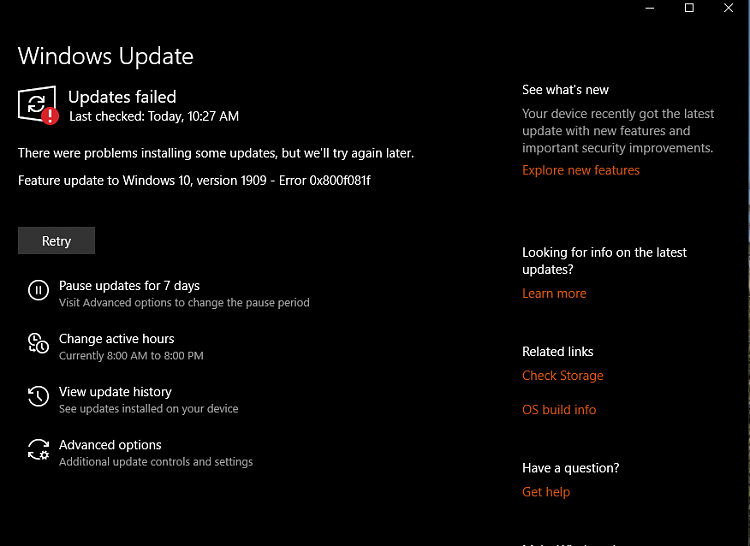Cumulative Update KB4517245 Windows 10 v1909 Build 18363.329 - Sept. 5-image.png