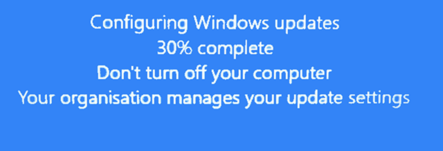 Cumulative Update KB4515384 Windows 10 v1903 build 18362.356 Sept. 10-1903-pro-organisation-message-updates.png