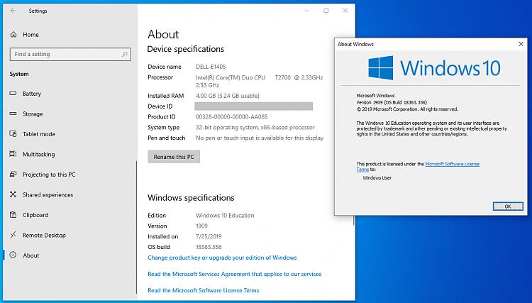 Cumulative Update KB4517245 Windows 10 v1909 Build 18363.329 - Sept. 5-win10-v1909-education-sysinfo-delle1405.png