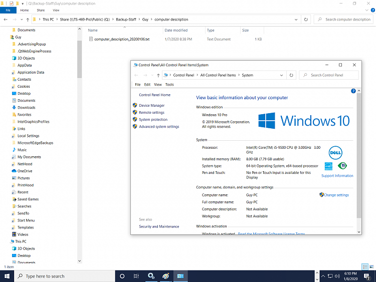 Known and Resolved issues for Windows 10 May 2019 Update version 1903-computer-description.png