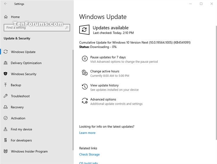 Windows 10 Insider Preview Fast Build 19564.1000 - February 12-kb4541091.jpg