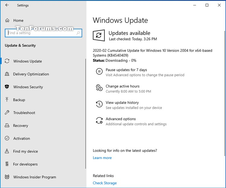 KB4540409 for Windows 10 Insider Preview Slow Build 19041.113 Feb. 27-kb4540409.jpg