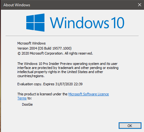 Windows 10 Insider Preview Fast Build 19577.1000 - March 5-19577.png