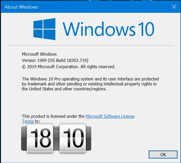 KB4540673 CU Win 10 v1903 build 18362.719 and v1909 build 18363.719-image.png